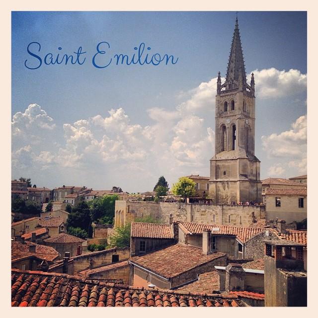 Chaud chaud chaud à Saint Emilion aujourd'hui