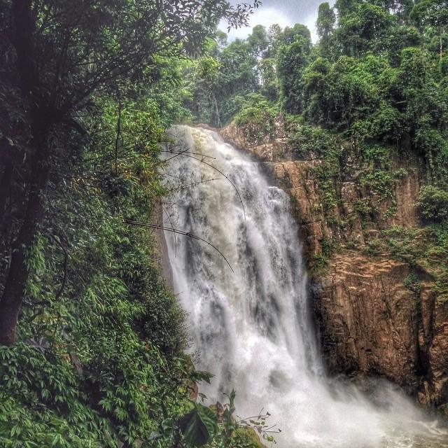 Cascade Haew Narok - parc national de Khao Yai - Thaïlande