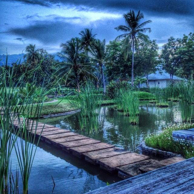 Début de soirée en Thaïlande