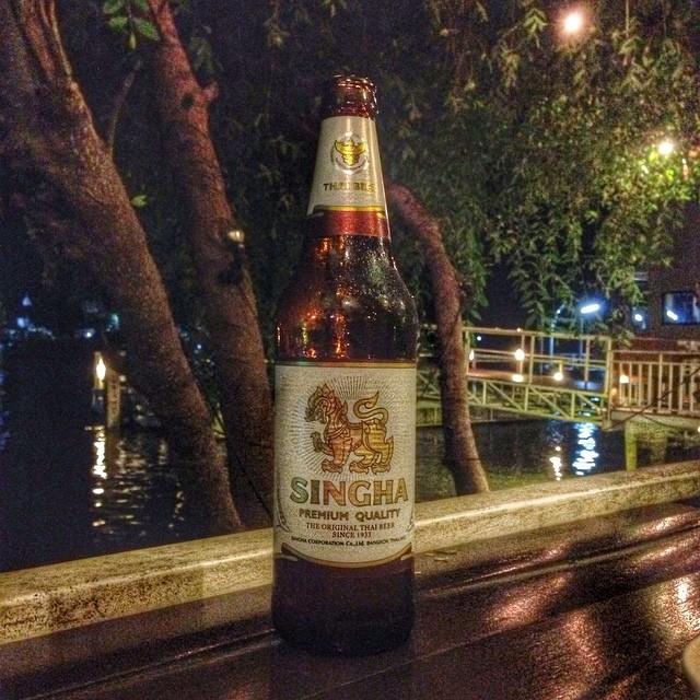 Singha - première marque de bière thaï