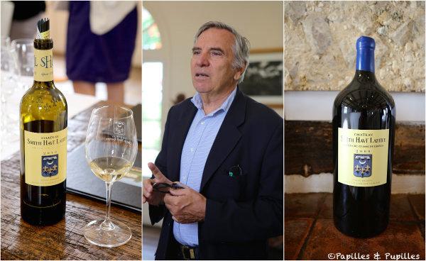 Château Smith Haut Lafitte blanc, rouge et Daniel Cathiard