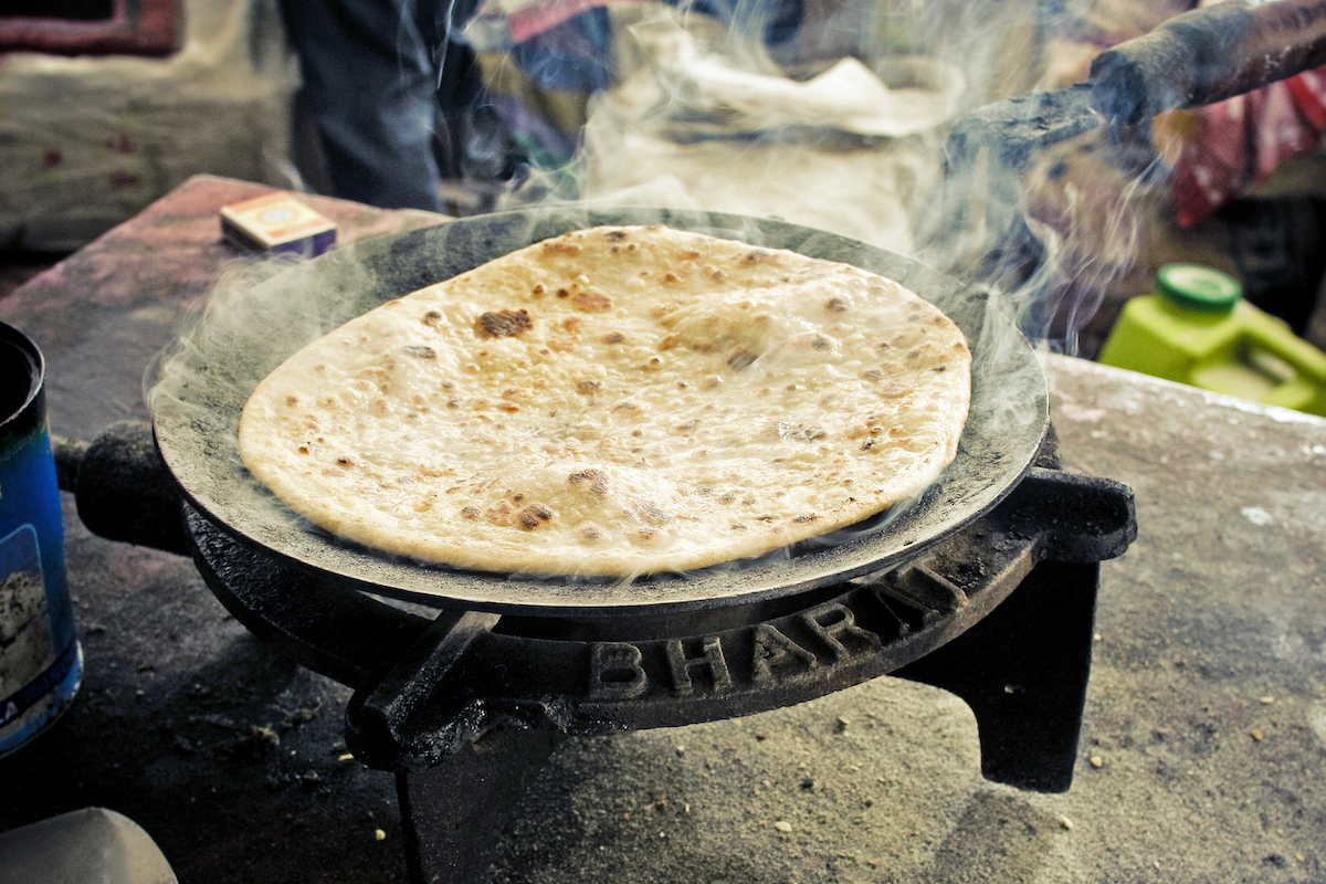 Chapatis traditionnels © Anna Vesna shutterstock