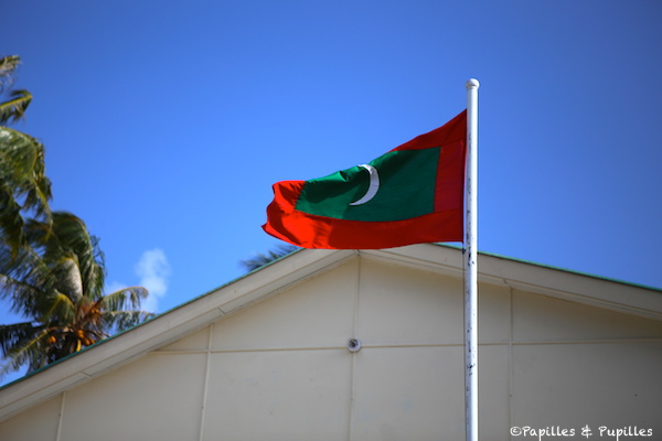Drapeau des Maldives