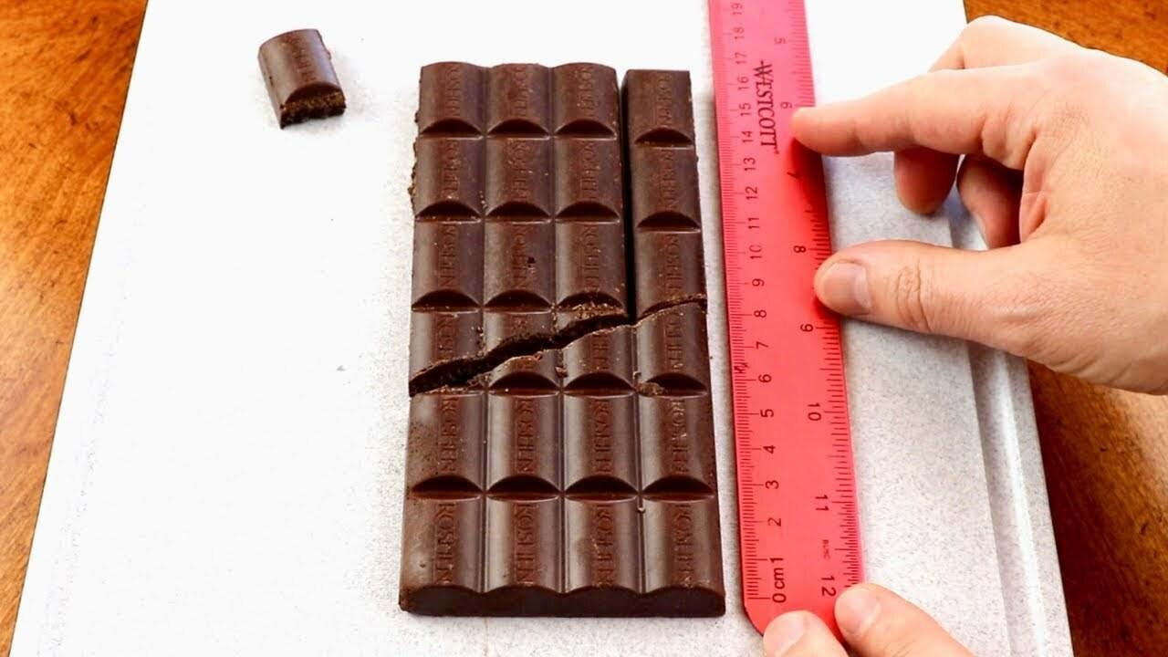 Infinite chocolate bar