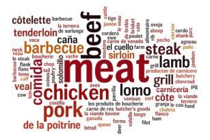 Infographie viande © PaulPaladin - shutterstock