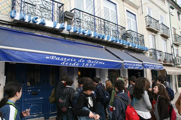 La Pâtisserie des pasteis de Belém , Lisbonne ©Khoogeem CC BY,NC,ND