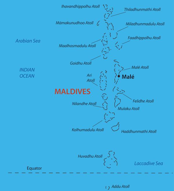 Maldives ©pavalena - shutterstock