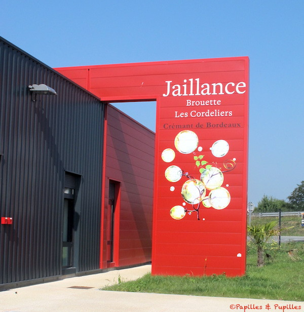 Site de production Jaillance - Crémant de Bordeaux - Peujard