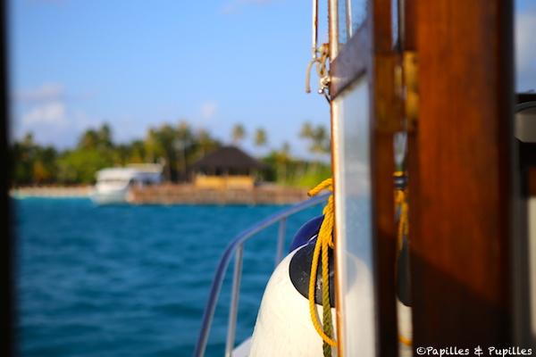 Sur le bateau du retour