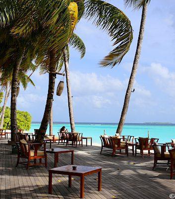Terrasse -The Sun Siyam Iru Fushi - Maldives