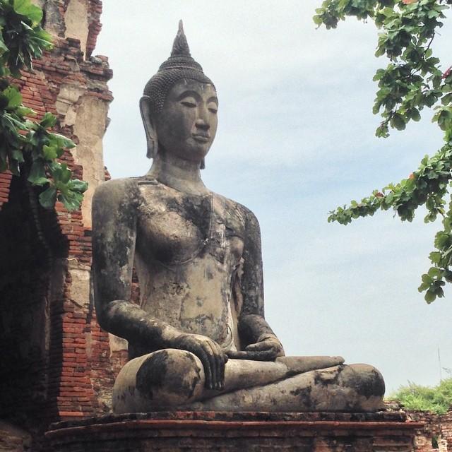 Bouddha - Ayutthaya - Thaïlande