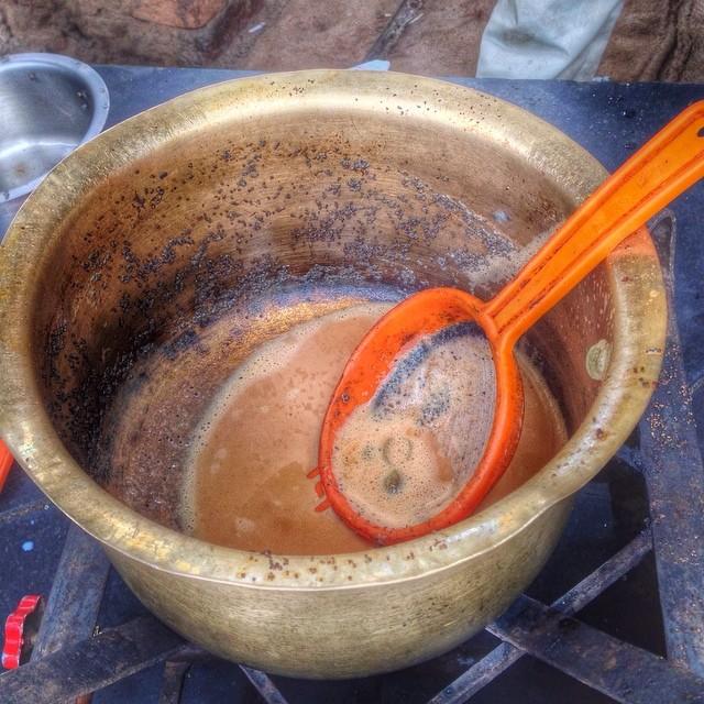 Préparation du chai