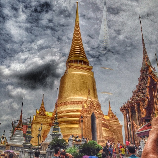 Le grand Chedi doré - palais royal Bangkok