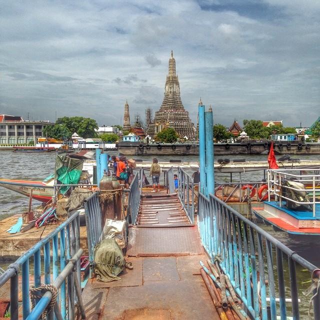 Temple de l'aube - Bangkok