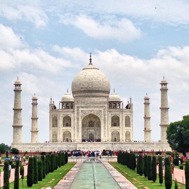Taj Mahal, Agra, Inde