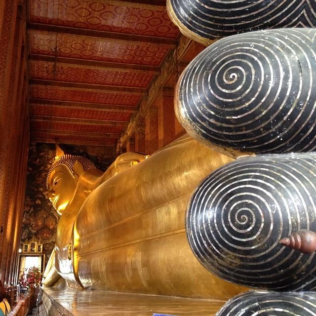 Bouddha couché - Wat Pho - Bangkok