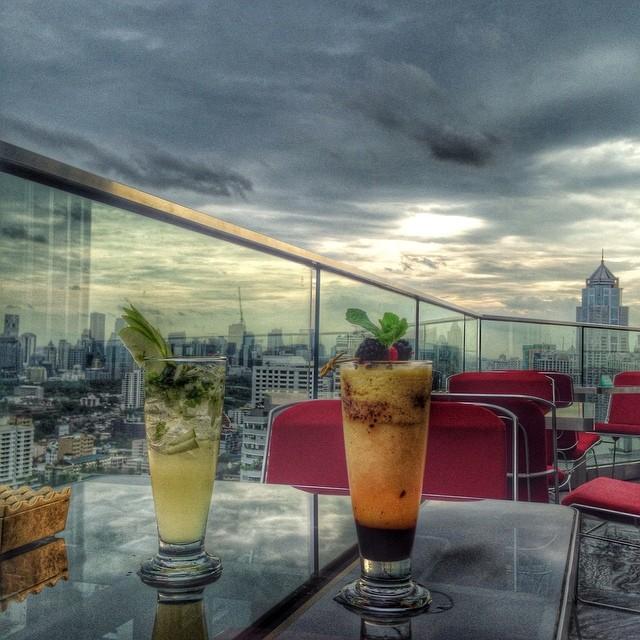 L'heure des mocktails (cocktails sans alcool) - rooftop
