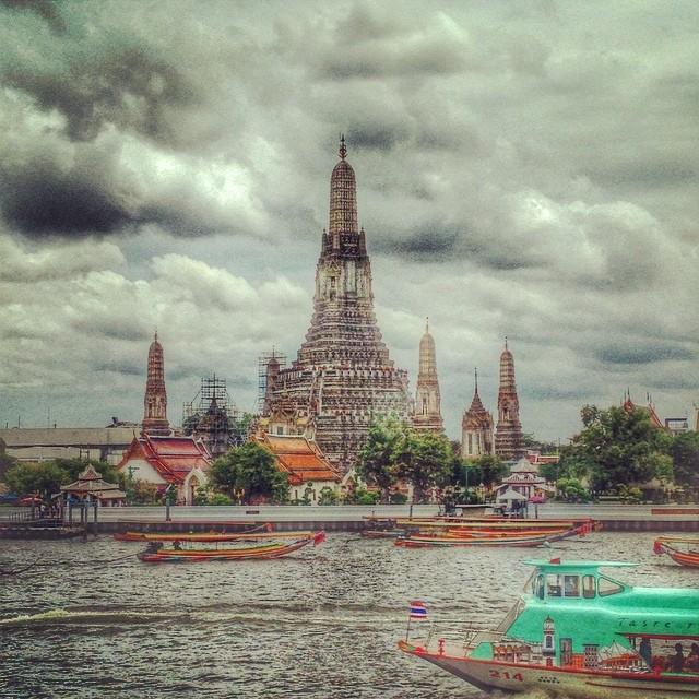 Le temples de l'Aube - Bangkok