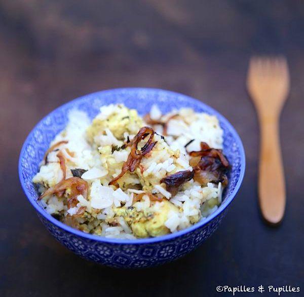 Biryani au poulet - Cuisine indienne