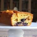 Cake au Comté, aux figues et aux raisins