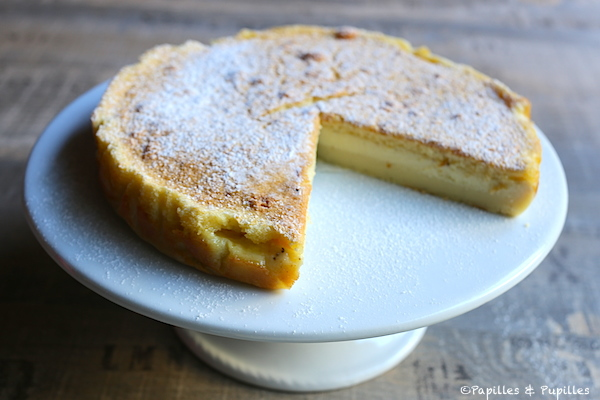 Cake Au Pomme Tupperwore