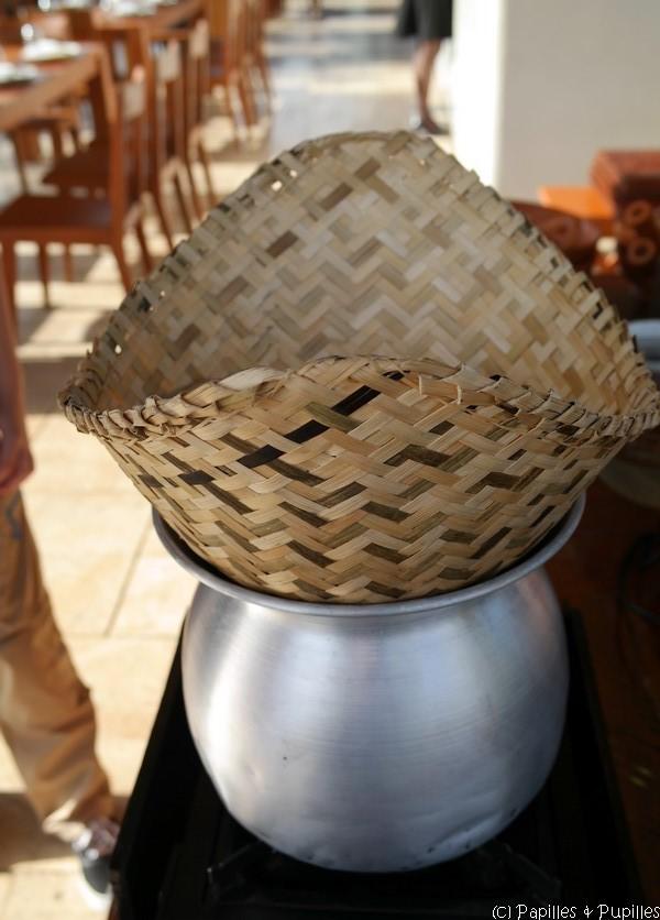 Panier de cuisson pour riz gluant - Ngouat nung