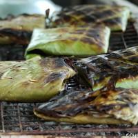 Papillotes feuilles de bananiers
