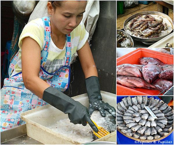 Préparation des poissons