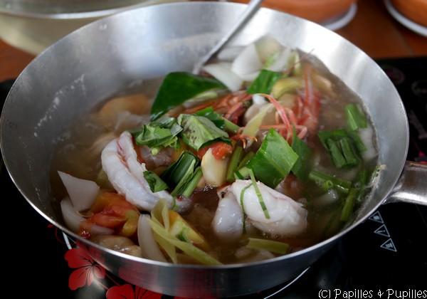 Quand les crevettes sont cuites c'est prêt