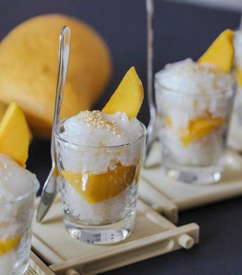 Riz gluant au lait de coco et a la mangue (c) Vietnam Photography - Shutterstock