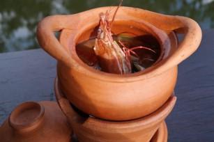 Soupe de crevettes à la citronnelle