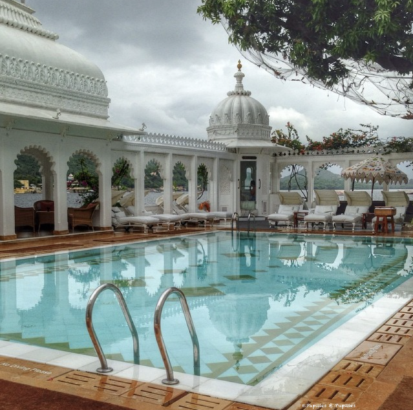Taj Lake Palace - Piscine