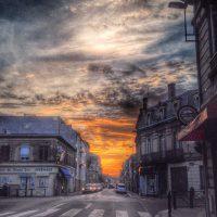 Lever de soleil - Bordeaux