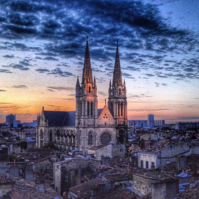 Sunset - Église Saint Louis des Chartrons - Bordeaux