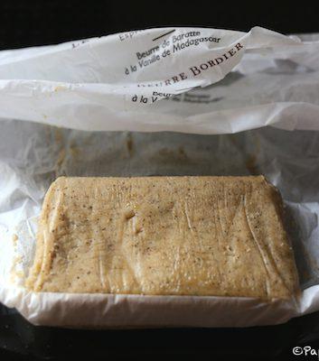 Beurre Bordier à la vanille