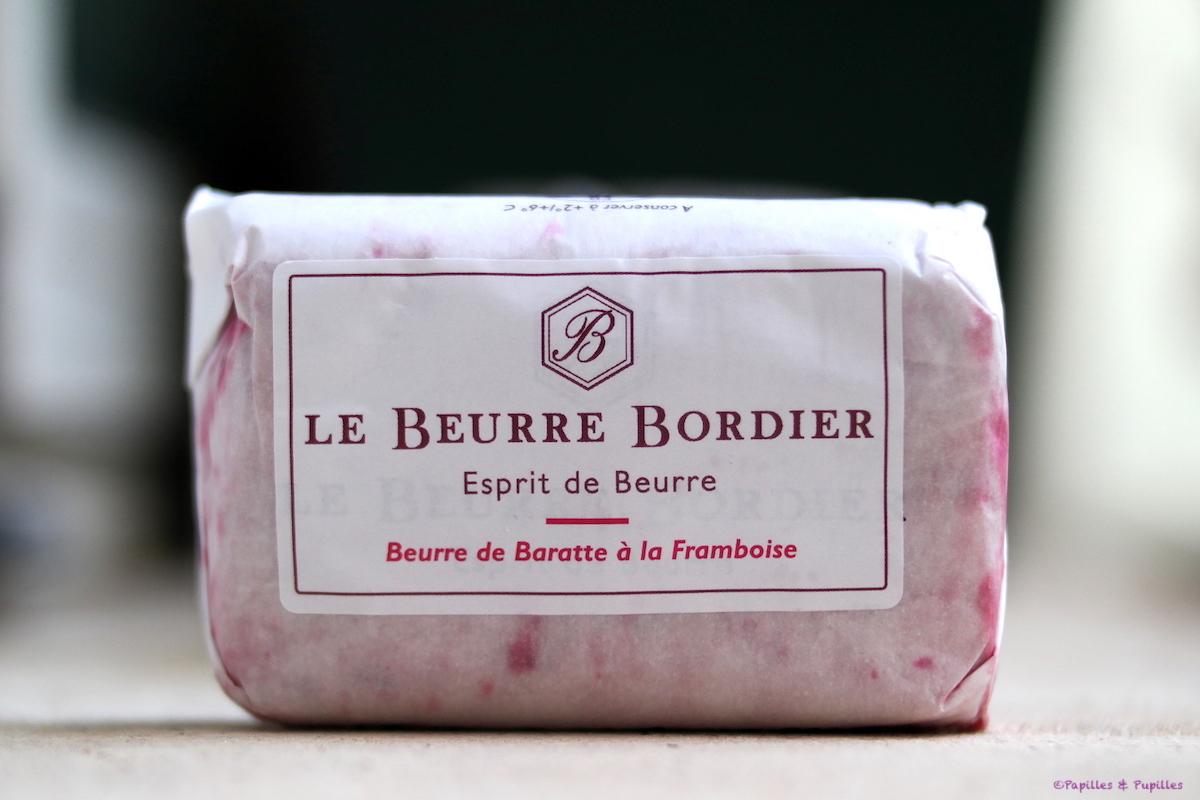 Beurre Bordier à la framboise