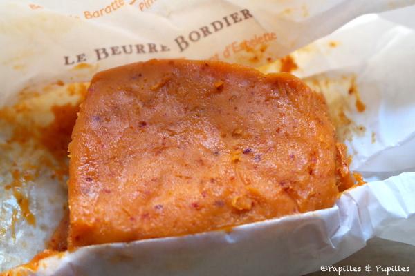 Beurre Bordier au piment d'Espelette