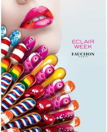 Eclair week Fauchon Paris
