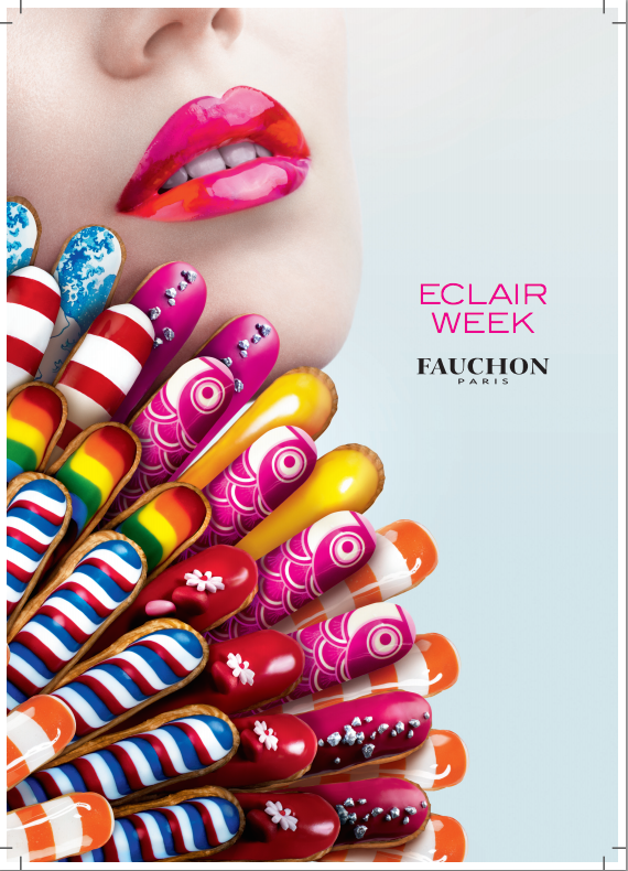 Eclair week Fauchon Paris