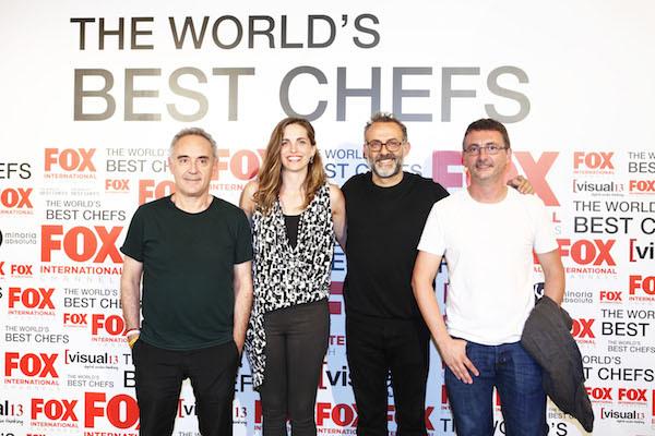 Ferran Adria, Katie Button, Massimo Bottura et Andoni Aduriz