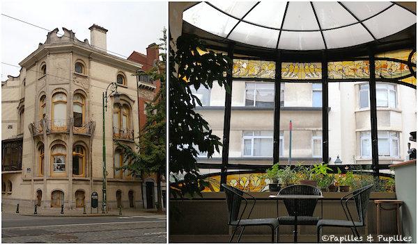 Hôtel Hannon - Art nouveau - Bruxelles, Belgique