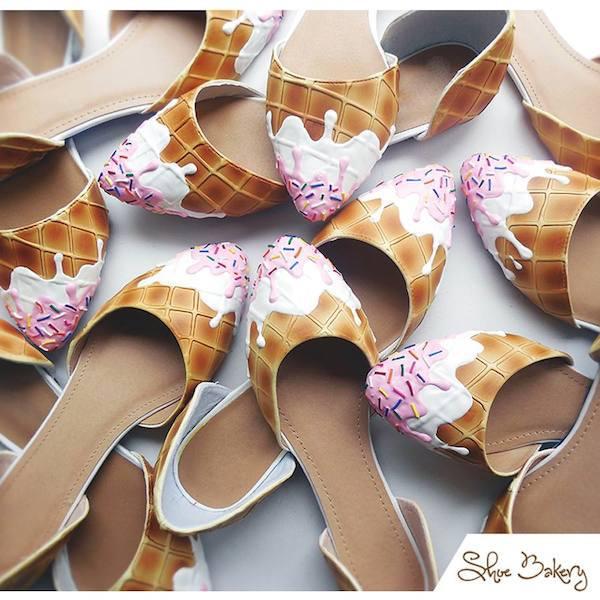 Ice Cream D'orsays  ©Shoe Bakery