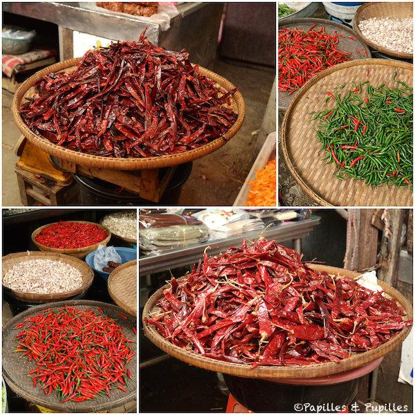 Les piments, ingrédients indispensables de la cuisine thaï