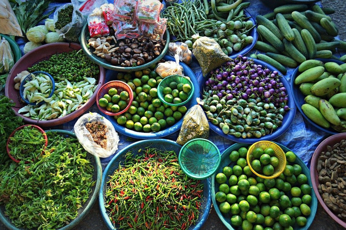 Marché Thaïlande ©Nick Walker de Pixabay
