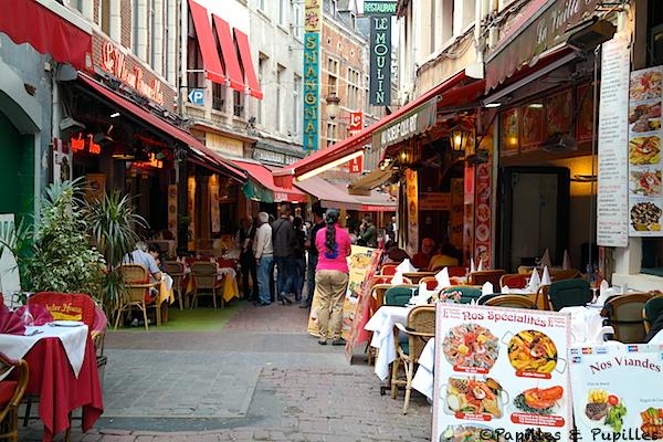 Rue des Bouchers, Bruxelles