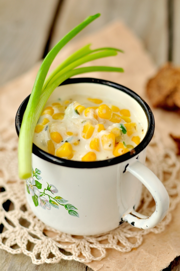 Soupe de maïs ©Tatiana Vorona shutterstock