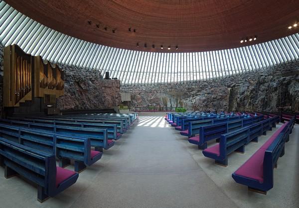 ÉgliseTemppeliaukio d'Helsinki