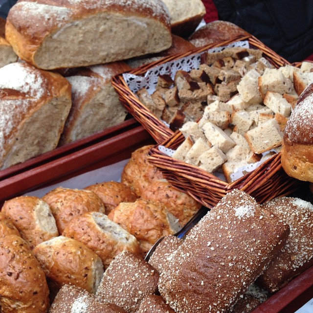 Pains finlandais / Finnish breads