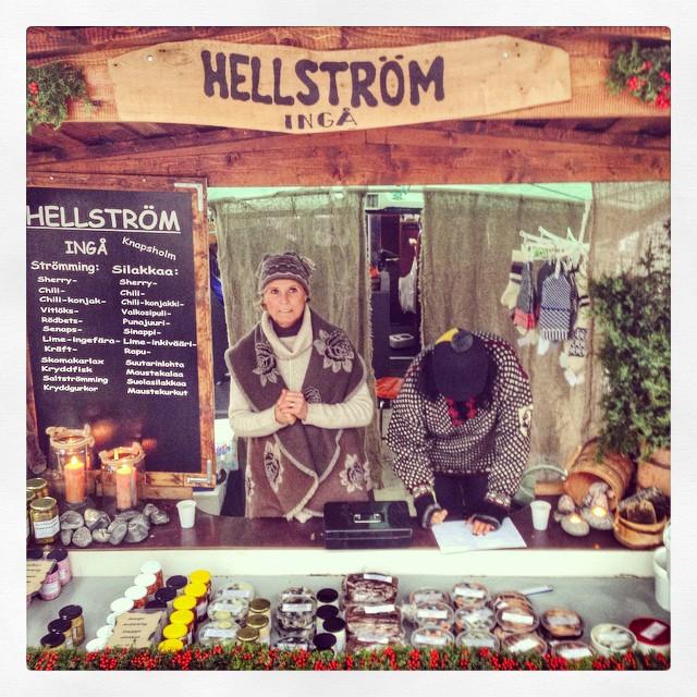 Le Marché aux harengs - Helsinki