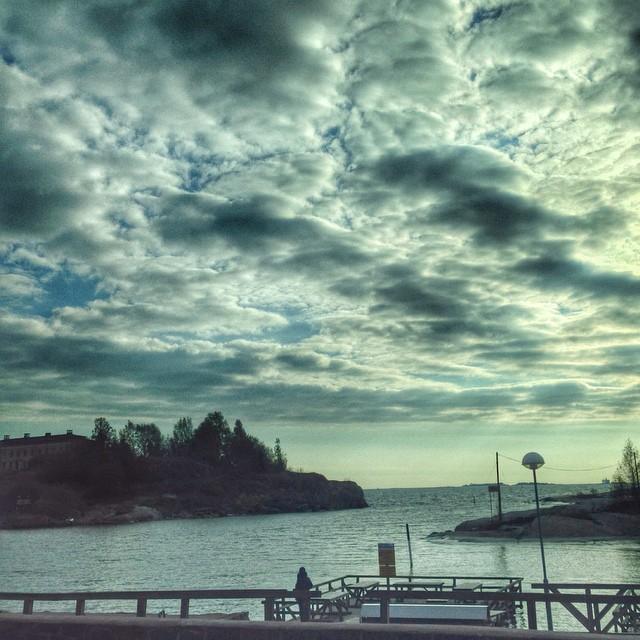 Coucher de soleil - Front de mer - Helsinki